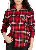 Polo Ralph Lauren Monogram Plaid Flannel Shirt