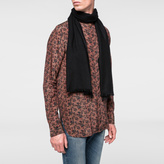 Paul Smith Men's Black Cashmere Scarf