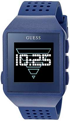 GUESS Quartz Watch with Silicone Strap