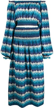 F.R.S For Restless Sleepers Aganipe graphic-print dress