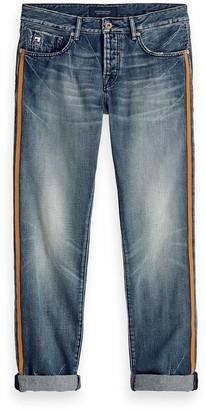 Scotch & Soda Vernon Blauw Comes Last Regular Straight Fit Jeans