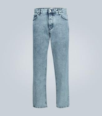 AMI Paris Tapered stonewashed jeans