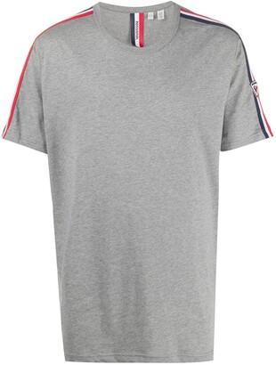 Rossignol short sleeve logo stripe T-shirt