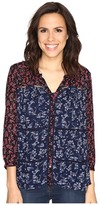 Lucky Brand Mixed Print Peasant