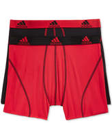 adidas Men's 2 Pack ClimaLite Performance Boxer Briefs