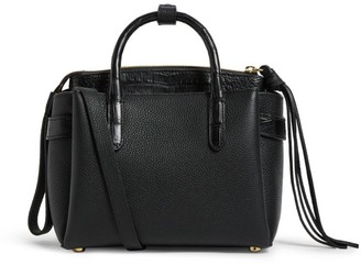 Nancy Gonzalez Crocodile and Leather Cristy Tote Bag