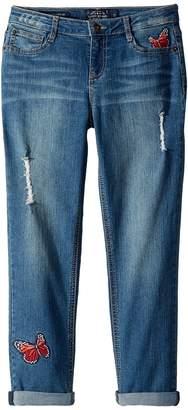 Lucky Brand Kids - Demetra Butterfly Jeans in Ada Wash Girl's Jeans