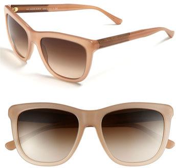 Burberry 55mm Cat Eye Sunglasses