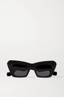 Loewe Oversized Cat-eye Acetate Sunglasses - Black