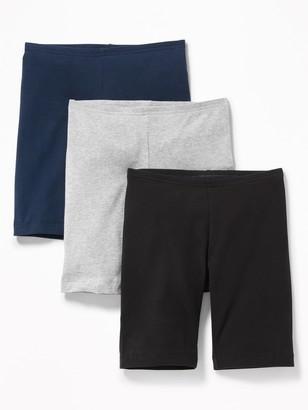 Old Navy Long Jersey Biker Shorts 3-Pack for Girls