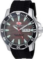 Seapro Men's 'Scuba Dragon Diver LTD' Quartz Stainless Steel Casual Watch, Color:Black (Model: SP8315)