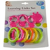 First Steps Learning Links Set Colourful Baby Toddler Teething Toy 12months+ by First Steps