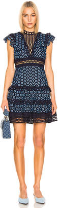 Sea Josie Sleeveless Mini Dress in Blue | FWRD