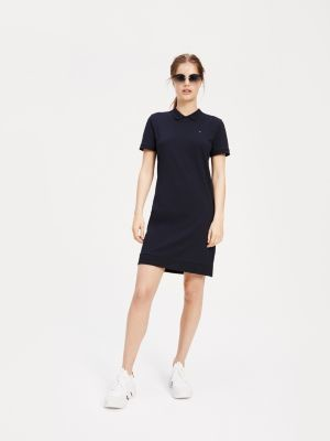 Tommy Hilfiger Relaxed Fit Organic Cotton Polo Dress