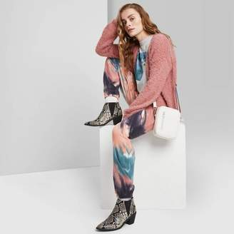 Wild Fable Women's High-Rise Tie-Dye SweatPants - Wild fableTM Coral/Blue
