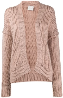 Alysi Knitted Drop Shoulder Cardigan