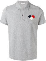 Moncler logo polo shirt - men - Cotton - L