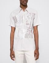 Printed Polka Dot Block Shirt