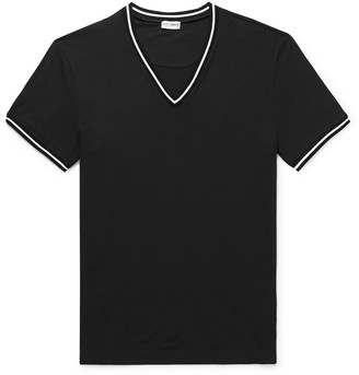 Dolce & Gabbana Stretch Cotton-jersey T-shirt - Black