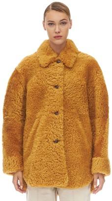 Isabel Marant Sarvvey Shearling Coat