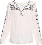 Velvet by Graham & Spencer Chantel embroidered blouse