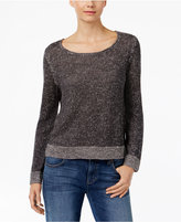 Eileen Fisher Lined-Blend Marled Sweater