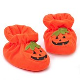Newborn Baby Halloween Crib Shoes Soft Sole Anti-slip Sneakers by XILALU