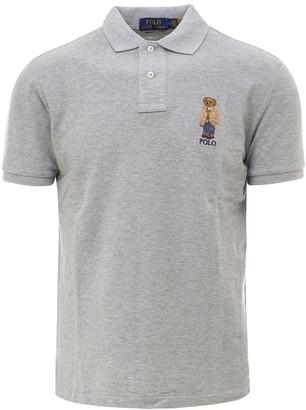 Polo Ralph Lauren Bear Print Polo Shirt