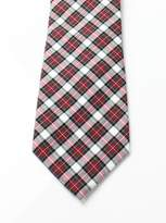 Lauren Ralph Lauren Lauren by Ralph Lauren Red Men's One Size Shirt Plaid Neck Tie