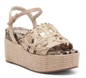Jessica Simpson Women's Camilia Platform Wedge Sandals Women's Shoes