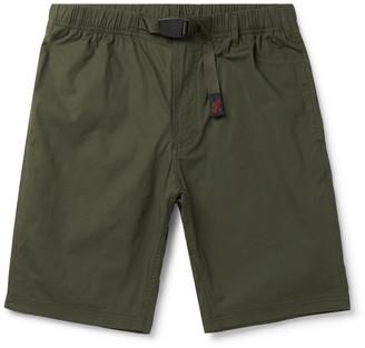 Gramicci Nn Belted Cotton-Blend Shorts