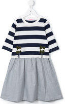 Familiar stripe and bow dress