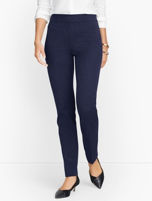 Talbots Refined Bi-Stretch Straight Leg Pants