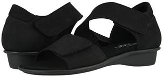 Sesto Meucci Elac (Black Nabuk) Women's Shoes