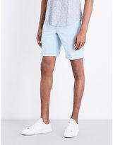 Slowear Chinolino Slim-fit Linen And Cotton-blend Chino Shorts