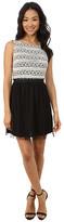 Gabriella Rocha Sleeveless Dress with Paperbag Mesh Skirt