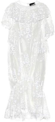 Simone Rocha Sequined tulle midi dress
