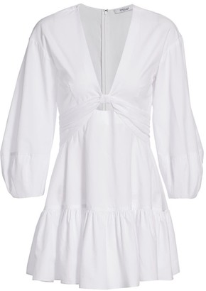 Derek Lam 10 Crosby Talia Keyhole Mini Dress
