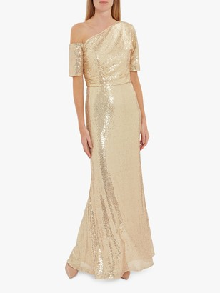 Gina Bacconi Erin Embellished Maxi Dress