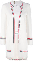 Thom Browne pleated dress - women - Silk/Cotton - 40
