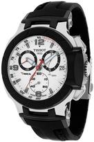 Tissot T-Race Collection T0484172703700 Men's Stainless Steel Analog Watch with Chronograph