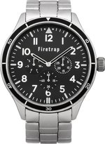 Firetrap men's quartz Watch with Dial analogue Display and silver other Bracelet FT2015BM