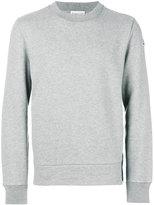 Moncler shell-panelled sweatshirt - men - Cotton/Polyamide - S