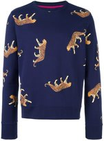 Paul Smith cheetah print sweatshirt