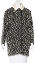 Isabel Marant Virgin Wool-Blend Short Coat