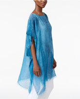 Eileen Fisher Sheer Poncho Sweater