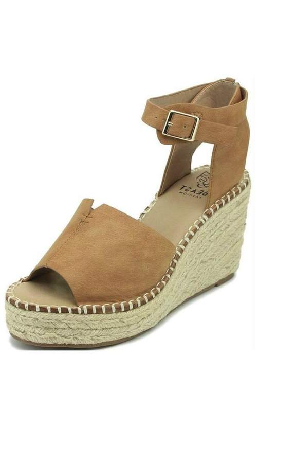 4fb53eb19be Beast Fashion Berlin Ankle-Wrap Wedge