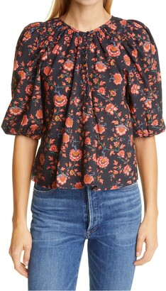 The Great Ravine Floral Top
