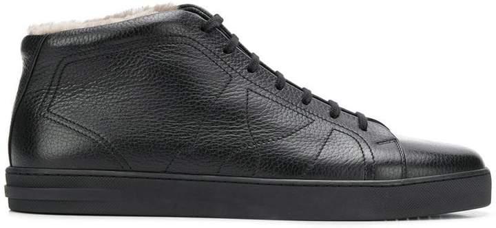 Moreschi lamb fur lining sneakers