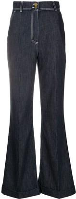 Philosophy di Lorenzo Serafini High-Rise Flared Jeans